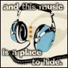 music place to hide