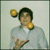 fruit-juggling spencer