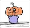 Bun: pumpkin bun