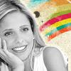 Buffy Giles (AU): rainbow smile
