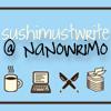 nanowrimo: sushimustwrite