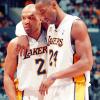 Kobe: Arm around Fish