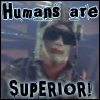 humans are superior