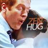 Applesauce Parker: hug!