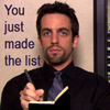 Ryan's List