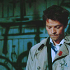 Mary: castiel;look down