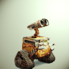 I'm Jack Sparrow's jar of dirt. [Don't touch me!]: Wall·e | The last one left