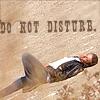 Do Not Disturb - James!
