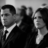 CSI // Sara & Nick at Warrick's funeral