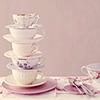 Elizabeth .S.: Tea cups stacked