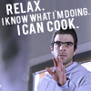 I can cook, Heroes - Relax