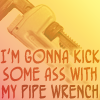 text | PIPE WRENCH FIGHT