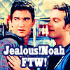 jealous!noah
