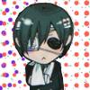 Kuroshitsuji chibi Ciel hurt and sad
