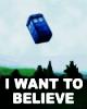 I Want To Believe TARDIS