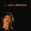The Mummy - I am a librarian!