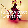 i wanna crash.