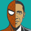 Obama.Spidey, comics.elections