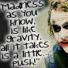 batman joker madness push