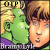 SpaceCrazyArtist: DC - Brainy/Lyle: OTP