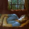 Supernatural-Sam sleeping