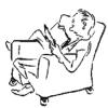 книга, читатель