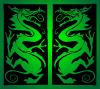 Dragon reflection