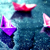 sammm ♥: rain // origami boats