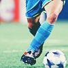 Barça // Iniesta thigh