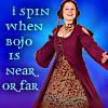 I spin when Bojo is near or far
