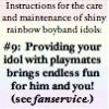rule 09: fanservice