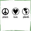 peace love planet