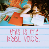 this is my real voice
