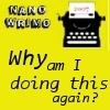 NaNo: Why