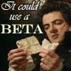 Machiavellian Puppet Master: Blackadder--it could use a beta