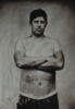 ithyle, collodion, silver, wet plate, self portrait