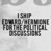 Lely: I ship Edward/Hermione