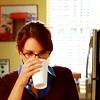 lemon drinks coffee