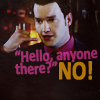 I think the show was still running... here.: Ianto - Anyone there? NO!
