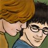 Harry/Ron- affection