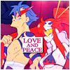 """Arijan (pronounced """"AH-ree-yawn""""): YokoKamina - love and peace"""