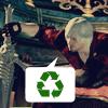 recycle, Dante, go green
