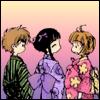 Los tres kimonos