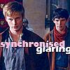 Valderys: Merlin/Arthur - synchronised glaring