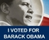 Election '08 - voted for obama