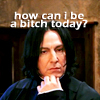 Harry Potter - bitchy Snape