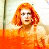 Leeloo looks good in orange!