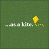as a kite
