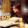 Audrey: {SPN} Jared - Geek boy