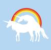unicorns, rainbow